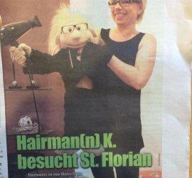 Hairman(n) k. besucht St. Florian